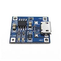 Зарядное устройство TP4056 18650 DIY microUSB