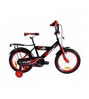 Велосипед детский 2-х колесный Alexis 12 -красный - отражатели на колесах, регулировка высоты руля