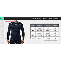 Рашгард Peresvit Air Motion Compression Long Sleeve T-Shirt Red, фото 3