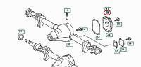 Маслозаливная пробка в задний мост VW LT 28-46 96-06 9019970535 MERCEDES (Оригинал)