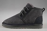 Сапоги мужские UGG Neumel Grey - 2270, серые замша