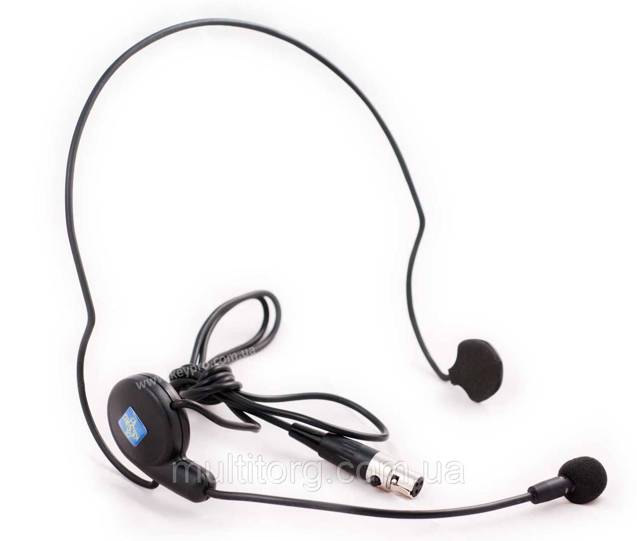 Микрофон наголовный конденсаторный KCM-56 mini-XLR