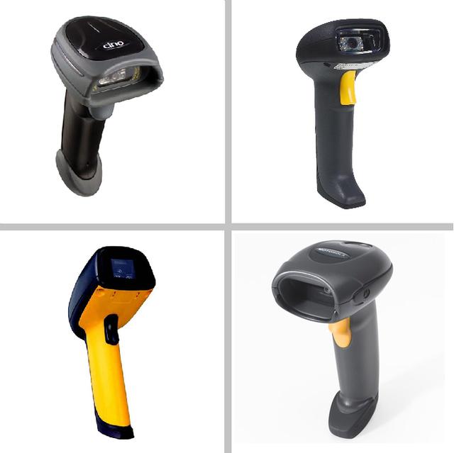 Ручные сканеры 2D-штрихкода (беспроводные)