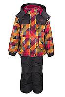 Зимний костюм для девочек Gusti Boutique GWG 3009-NECTARINE. Размеры 98 - 128.