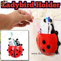 """Держатель зубных щеток и пасты - """"Ladybird Holder"""""""