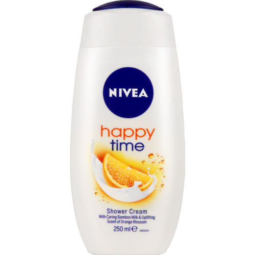 Жіночий гель для душу Nivea Care & orange 250 мл