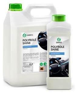"""Полироль для кожи, резины и пластика """"Polyrole Shine"""" глянцевый блеск, 1 л"""