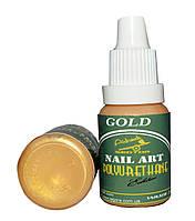 Краска для ногтей POLYURETHANE Edition GOLD