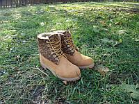 Ботинки Timberland в наличии, натуральный мех,р.36-40