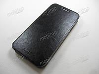 Кожаный чехол MOFI Samsung E500H Galaxy E5 (черный), фото 1