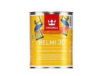 """Эмаль акриловая TIKKURILA HELMI 30 для мебели и радиаторов, """"A"""" белая, 0,9л"""