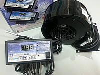 Комплект автоматики польского производства Nowosolar PK-22 + NWS 75 для твердотопливных котлов