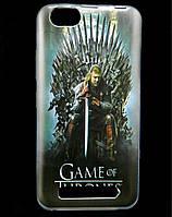 Чехол накладка для Lenovo A2020 Vibe C силиконовый с рисунком, Game of Thrones Stark