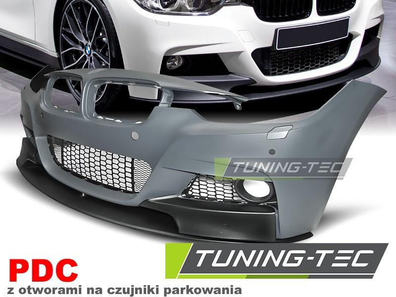 Передний бампер тюнинг обвес BMW F30 F31 стиль M Sport Perfomance с PDC