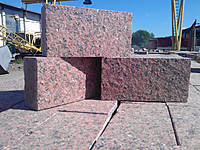 Бруківка з Лізниківського граніту