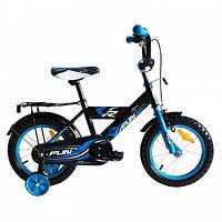 Велосипед детский 2-х колесный Alexis 12 синий