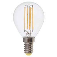 LED Лампа шар прозрачный G45 4W E14 2700K