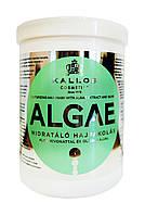 Маска для волос Kallos Algae Увлажняющая с экстрактом водорослей и оливковым маслом - 1000 мл.