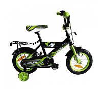 Велосипед детский 2-х колесный Alexis 12 зеленый