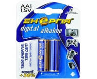 Батарейка Энергия Alkaline, LR03, ААA, 2шт блистер 2/40