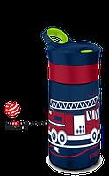 Бутылка спортивная детская Contigo Gracie 0,42 л синяя 1000-0352