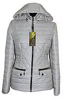 Стильная куртка женская цвета Шампань