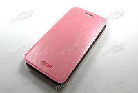 Кожаный чехол MOFI Samsung Galaxy A5 A500 (розовый), фото 1