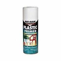 Грунт по пластику и стеклу,для проблемных поверхностей белый матовый, Rust Oleum спрей 0,340л