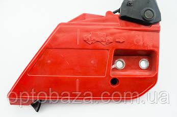 Ручка тормоза в сборе (скошенный угол) для бензопил серии 4500-5200, фото 2