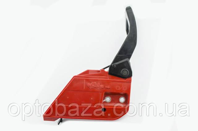 Ручка тормоза в сборе (скошенный угол) для бензопил серии 4500-5200