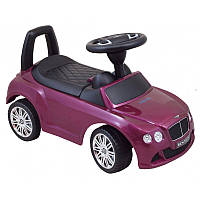 Машинка-каталка Alexis-Babymix Z-326P Bentley (purple) матовая краска (арт.18438)