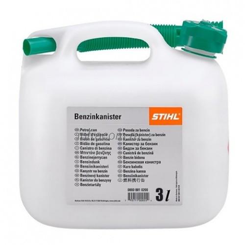 Канистра STIHL для бензина 3 л, прозрачная