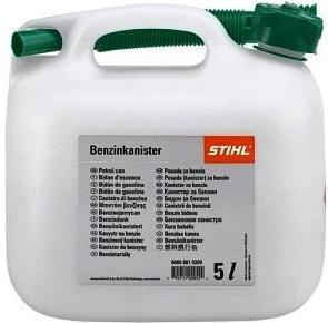 Канистра STIHL для бензина 5 л, прозрачная