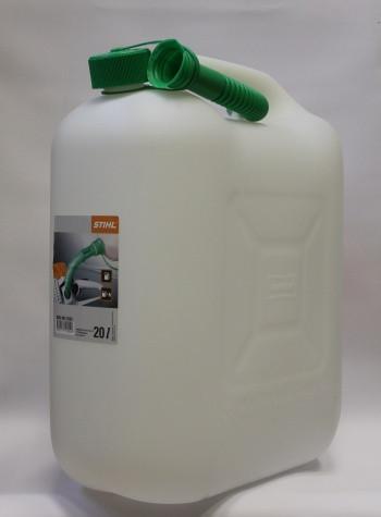 Канистра STIHL для бензина 20 л, прозрачная