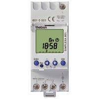 Цифровое недельное реле времени таймер с резервом питания Theben SIMPLEXA 601 на DIN-рейку th 6010001