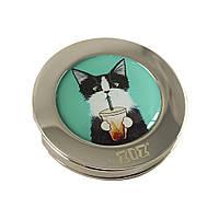 """Держатель для сумки """"Кот со стаканом"""""""