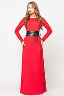 """Женское платье """"Настя"""" TM Leo Pride, 2 размера, красное"""