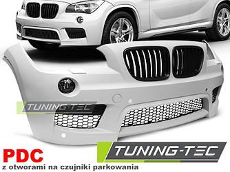 Передний бампер тюнинг обвес BMW X1 E84 стиль M Sport Paket