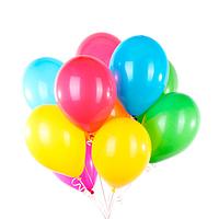 Гелиевый шарик 30см. летает до 5 дней