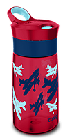 Бутылка спортивная детская Contigo Gracie 0,42 л красная 1000-0353
