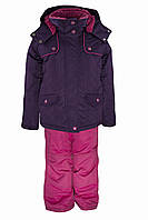 Зимний костюм для девочек Gusti Boutique GWG 3010-DARK VIOLET. Размеры 98 - 122.