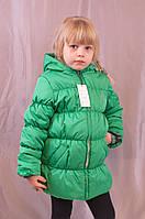 Красивая модная качественная детская куртка на осень и весну