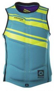 Жилет Mystic 2015 ND Wakeboard Vest Zip Mint