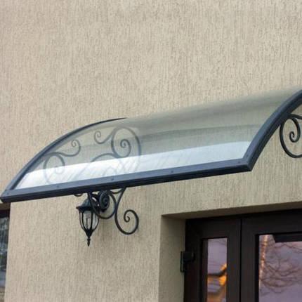 Монолитный поликарбонат 2мм Порезка 2,05*2м, фото 2