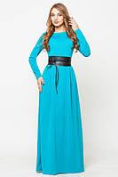"""Женское платье """"Настя"""" TM Leo Pride, 2 размера, голубое"""
