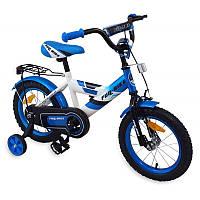 Велосипед детский 2-х колесный Alexis 14 синий