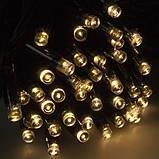 ГІРЛЯНДА БАХРОМА 3*0.5 м, 150 led каучук, колір тепло-білий, фото 5