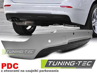 Задний бампер тюнинг обвес BMW X1 E84 стиль M Sport Paket