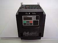 Преобразователь частоты HITACHI WL200-015HF, 1.5кВт, 4.1A, 400В. Вольт-частотный. Mini-USB, PLC.