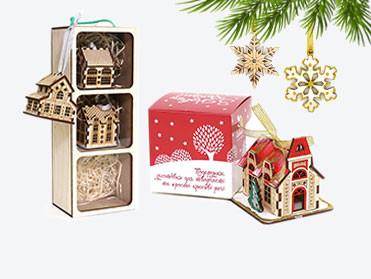 Новогодние украшения, сувениры